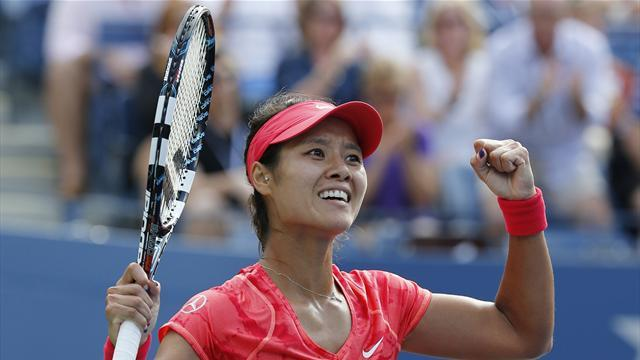US Open - Li becomes first Chinese player to reach semis