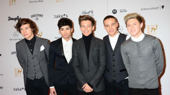 One Direction Have Best-Selling Calendar For The Second Year Running But Face Rivalry From An Olympic Hottie