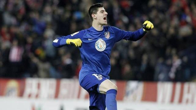 Champions League - Simeone backs Courtois to hurt owners Chelsea