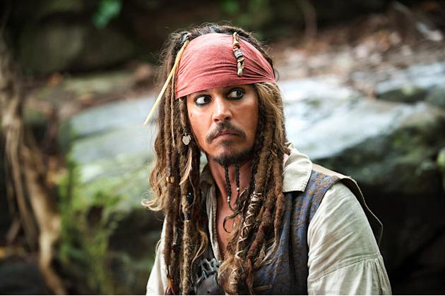 Pirates of the Caribbean On Stranger Tides 2011 Johnny Depp