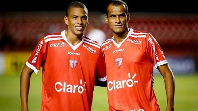 South American Football - Rivaldo retires after playing alongside son