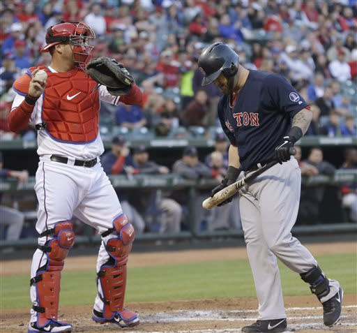 Holland, Beltre lead Rangers over Red Sox 7-0