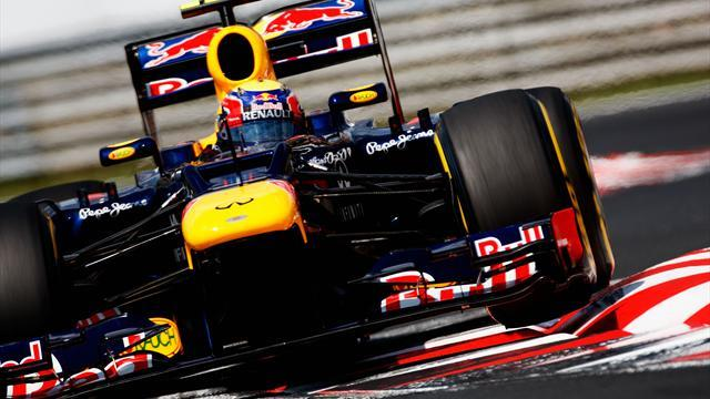 Formula 1 - Webber paces opening practice in Sepang