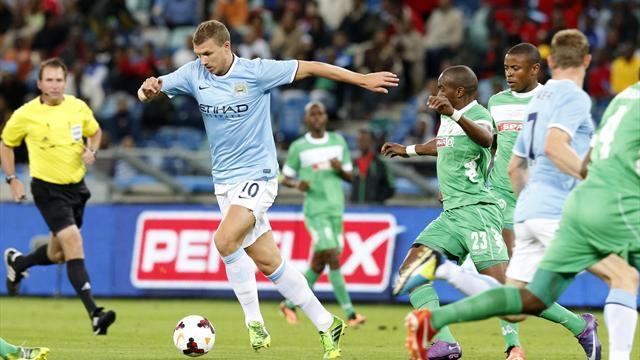 Premier League - Man City lose again on tour of South Africa