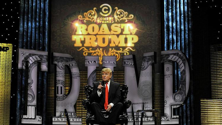 Donald Trump at the Comedy Central Roast Of Donald Trump.