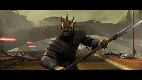 "Savage Oppress in ""Star Wars: The Clone Wars."" Used with permission of Lucasfilm."