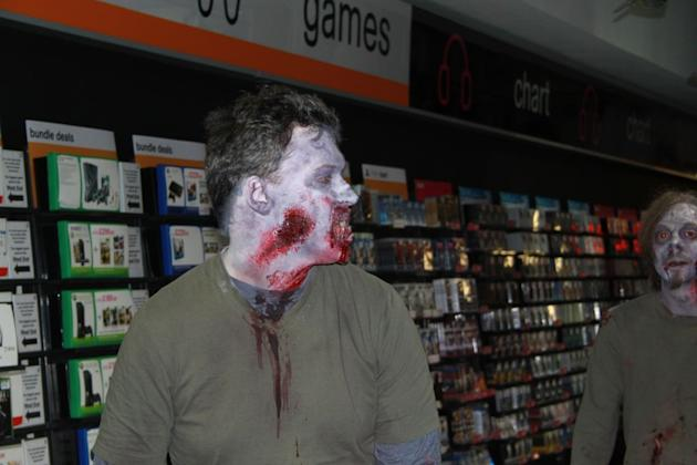 Fans were able to meet the zombies from Ubisoft's ZombiU game
