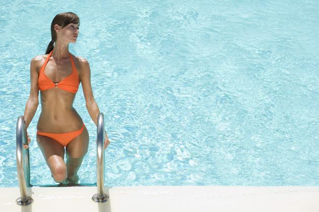 Flachgelegt: So klappt's mit dem Bikini-Bauch (Bild: thinkstock)