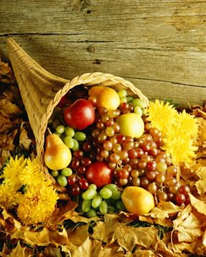 A Thanksgiving cornucopia -- Getty Images