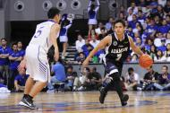 Ryan Monteclaro setting up Adamson's offense. (NPPA)