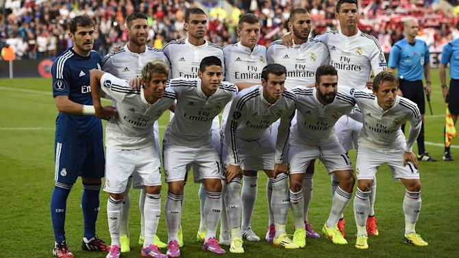 European Super Cup - Real Madrid name most expensive starting XI in football history