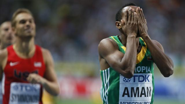 Athletics - World 800 champion Aman to move up a distance
