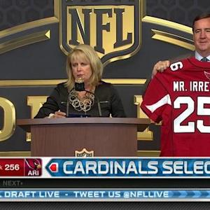 Arizona Cardinals pick tight end Gerald Christian as Mr. Irrelevant