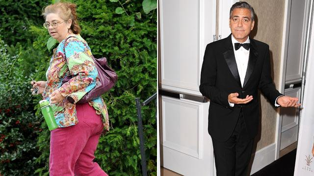 Clooney's Sister Says He's Not Gay