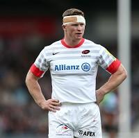 Chris Ashton is suspended for England's autumn international against Fiji