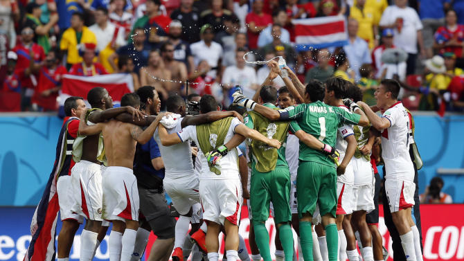 Costa Rica poised for its best World Cup