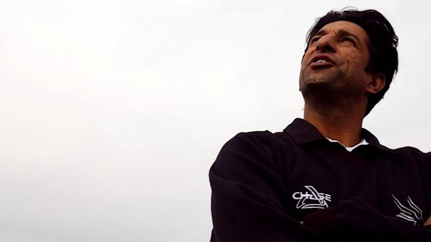 Wasim Akram file photo