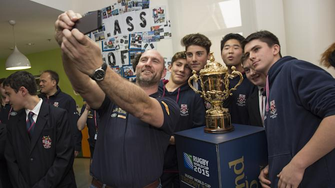 Rugby World Cup Trophy Tour - Shanghai