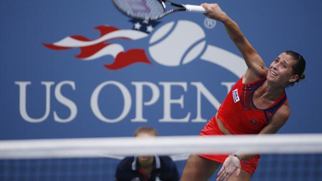 US Open - Fourth seed Errani dumped out by Pennetta