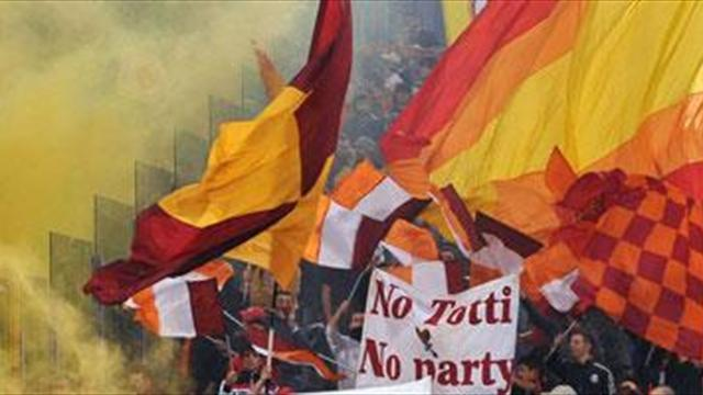 Serie A - Roma avoid derby crowd ban