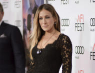 "FILE - This Nov. 10, 2016 file photo shows Sarah Jessica Parker at the world premiere of ""Rules Don't Apply"" on opening night of the 2016 AFI Fest in Los Angeles. Parker will serve as honorary chair of the American Library Association's newly created Book Club Central. The library association said Wednesday, Feb. 15, 2017, that the club will recommend books throughout the year and will formerly launch in Chicago on June 24, during the ALA's annual conference. (Photo by Richard Shotwell/Invision/AP, File)"