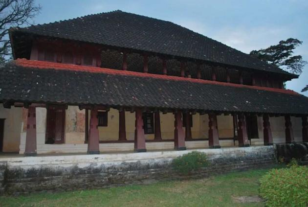 The Nalknadu Aramane, the palace of the erstwhile Haleri dynasty of Coorg, now wears a forlorn look.