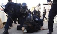 Hundreds Held As Occupy Protest Turns Violent