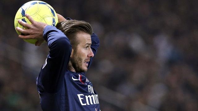 Ligue 1 - PSG president wants Beckham to extend contract