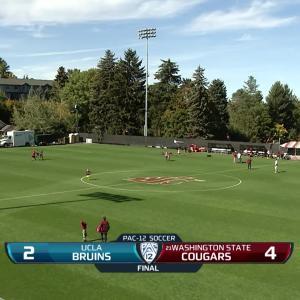 Recap: Washington State women's soccer tops UCLA behind season-high 4 goals