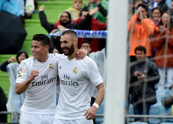 Manchester United transfer news: Real Madrid duo James Rodriguez and Karim Benzema keen to remain at Santiago Bernabeu