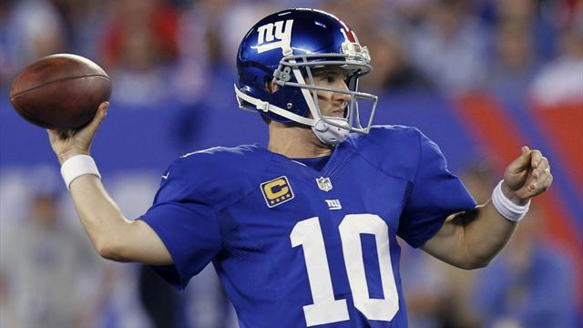 Giants rally to crush winless Browns