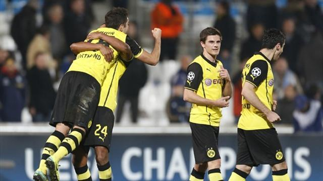 Champions League - Late Grosskreutz goal saves Dortmund from early exit