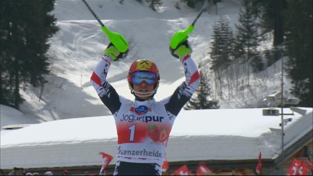 Alpine Skiing - Fenninger and Hirscher win final Crystal Globes in Lenzerheide