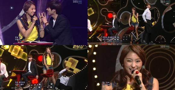 Bora's mistake on stage made people laugh