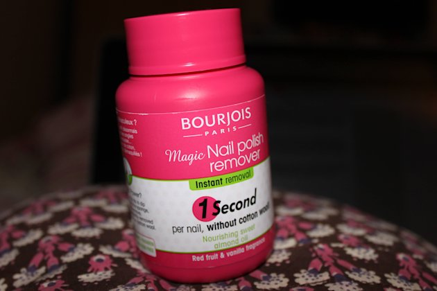 Nail Pick: Bourjois Magic Nail Polish Remover