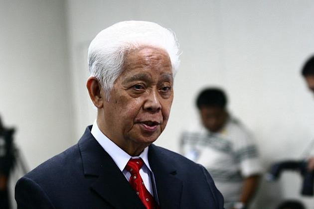 Comelec Chairman Sixto Brillanes. (Photo by NPPA Images)