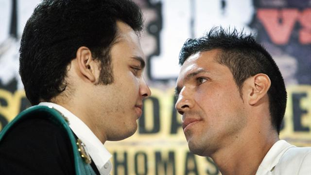 Boxing - Martinez, Chavez trade barbs ahead of showdown