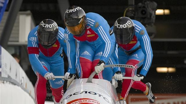 Bobsleigh - Zubkov leads Arndt after two runs