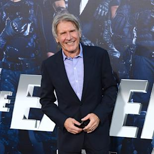 "FILE - In this Aug. 11, 2014 file photo, Harrison Ford arrives at the premiere of ""The Expendables 3"" at TCL Chinese Theatre in Los Angeles. Ford is set to reprise his role as Rick Deckard in a sequel to the dystopian, neo-noir ""Blade Runner,"" over 31 years after the film first premiered, Alcon Entertainment announced Thursday, Feb. 26, 2015. Production on the film will begin in the summer of 2016.  (Photo by Jordan Strauss/Invision/AP, File)"