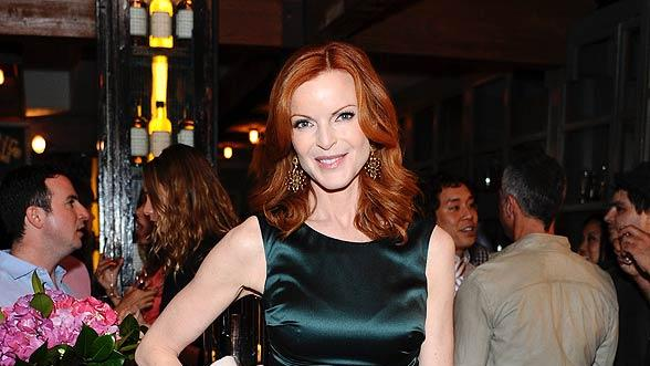 Marcia Cross Just Fab Prty