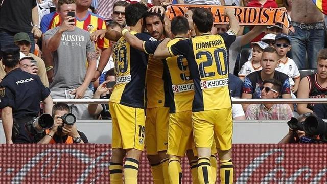 Liga - Atletico take huge step towards title with Valencia win