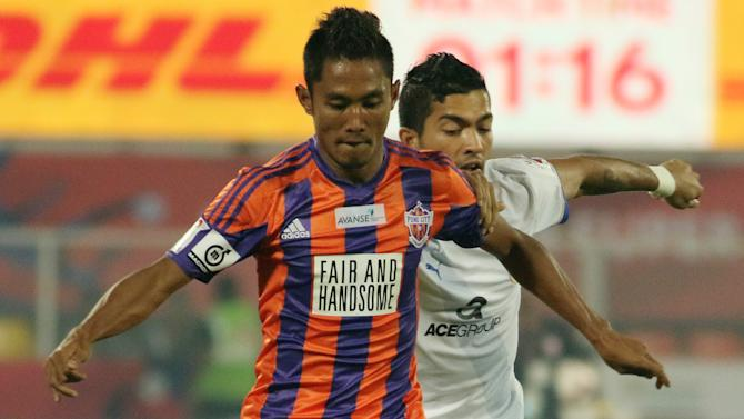 Indian Super League: Israil Gurung - My cross took a deflection for the goal