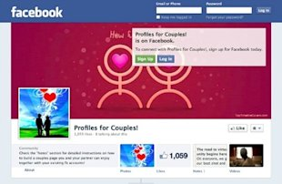 Facebook couples pages have arrived