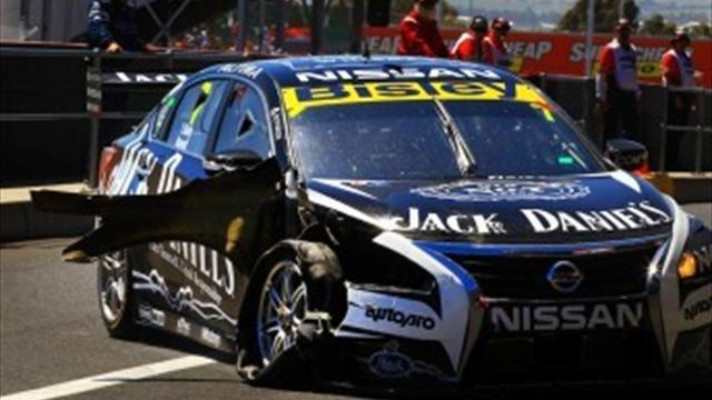 Motorsports - Kangaroo crash ends Bathurst 1000 for Kelly