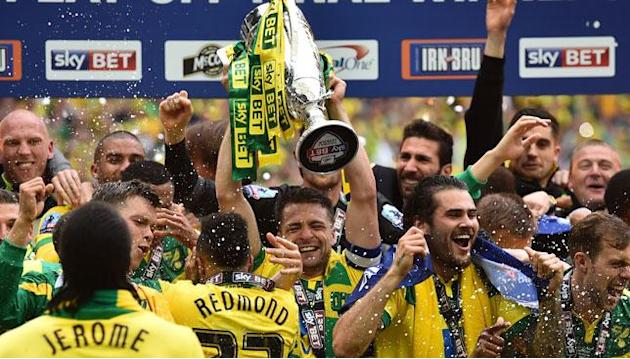 Norwich promoted to Premier League after downing Middlesborough
