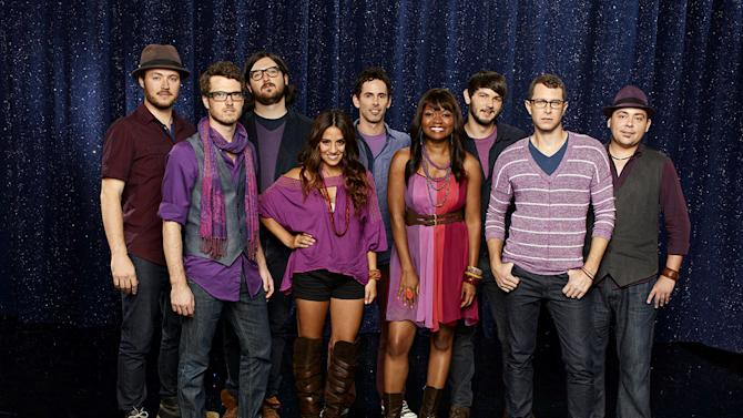"""THE COLLECTIVE of Nashville, TN: Formed by Street Corner Symphony's Jeremy Lister (""""The Sing-Off,"""" Season 2), this Nashville based first-time a cappella group is made up of individual singer-songwriters who came together to demonstrate that there is strength in numbers. Will this group win Season 3 of """"<a href=""""/baselineshow/4738783"""">The Sing-Off</a>""""?"""