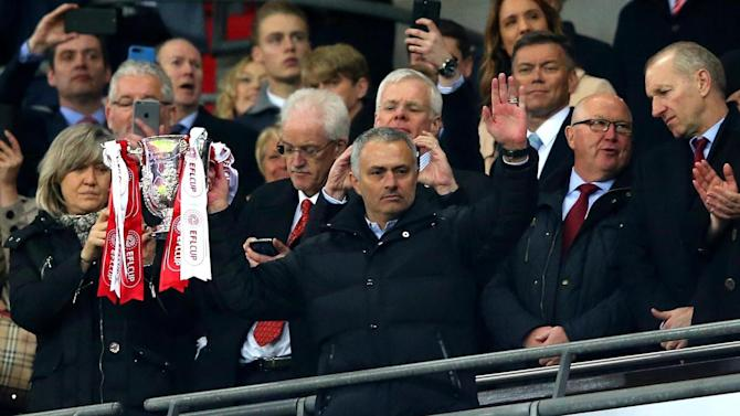 Arsenal, Tottenham and West Ham take note - the EFL Cup is no joke to Jose Mourinho