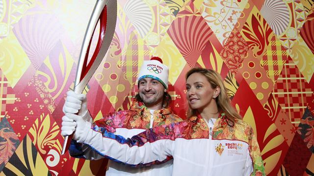 Winter Sports - Sochi 2014 organisers unveil futuristic Olympic torch