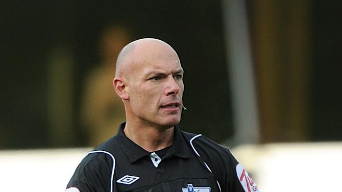 Howard Webb, pictured, and Jack Taylor have both officiated World Cup finals