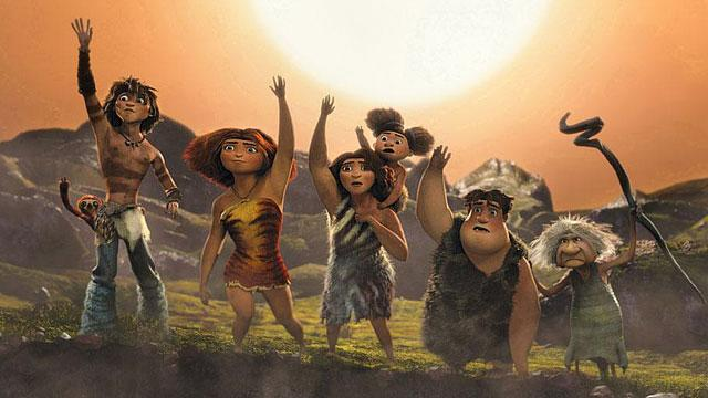 'Olympus' Falls to 'The Croods'